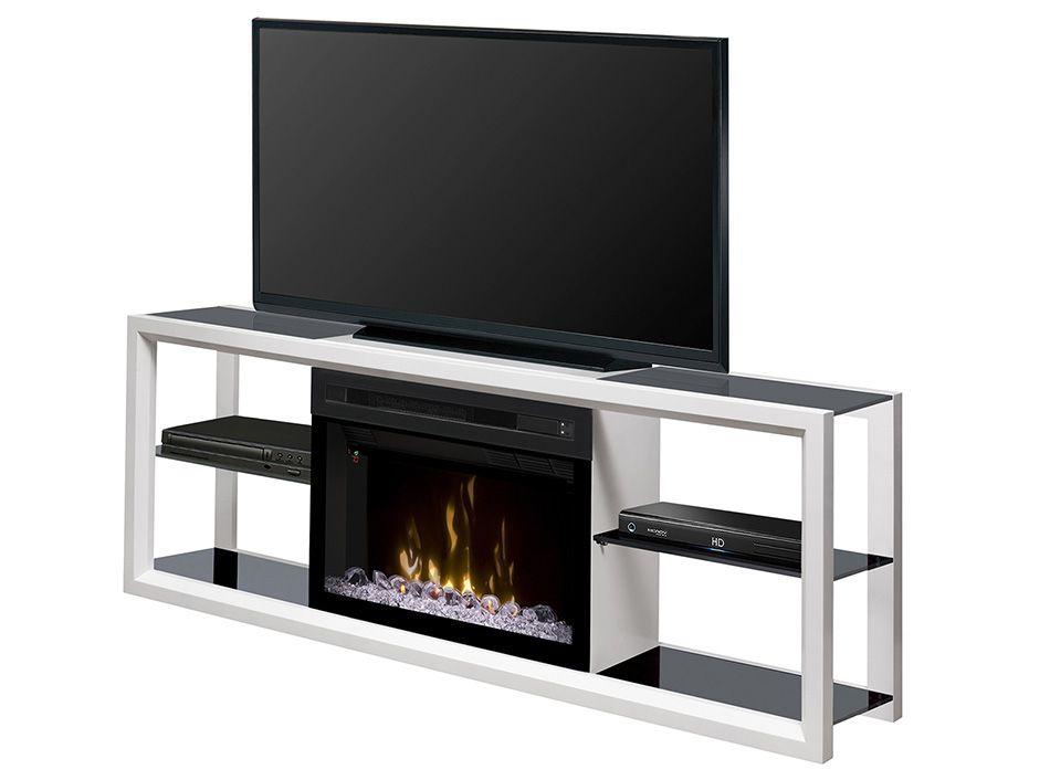 Media Console Fireplace Novara By Dimplex White 765 House