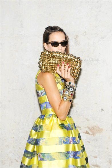 The handbag...  Lovely!!