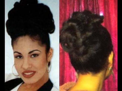 Gallery For \u003e Selena Quintanilla Hair Bun