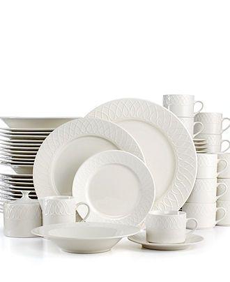 Casa Moda Dinnerware Teardrop 64 Piece Set - Casual Dinnerware - Dining u0026 Entertaining -  sc 1 st  Pinterest & Casa Moda Dinnerware Teardrop 64 Piece Set - Casual Dinnerware ...