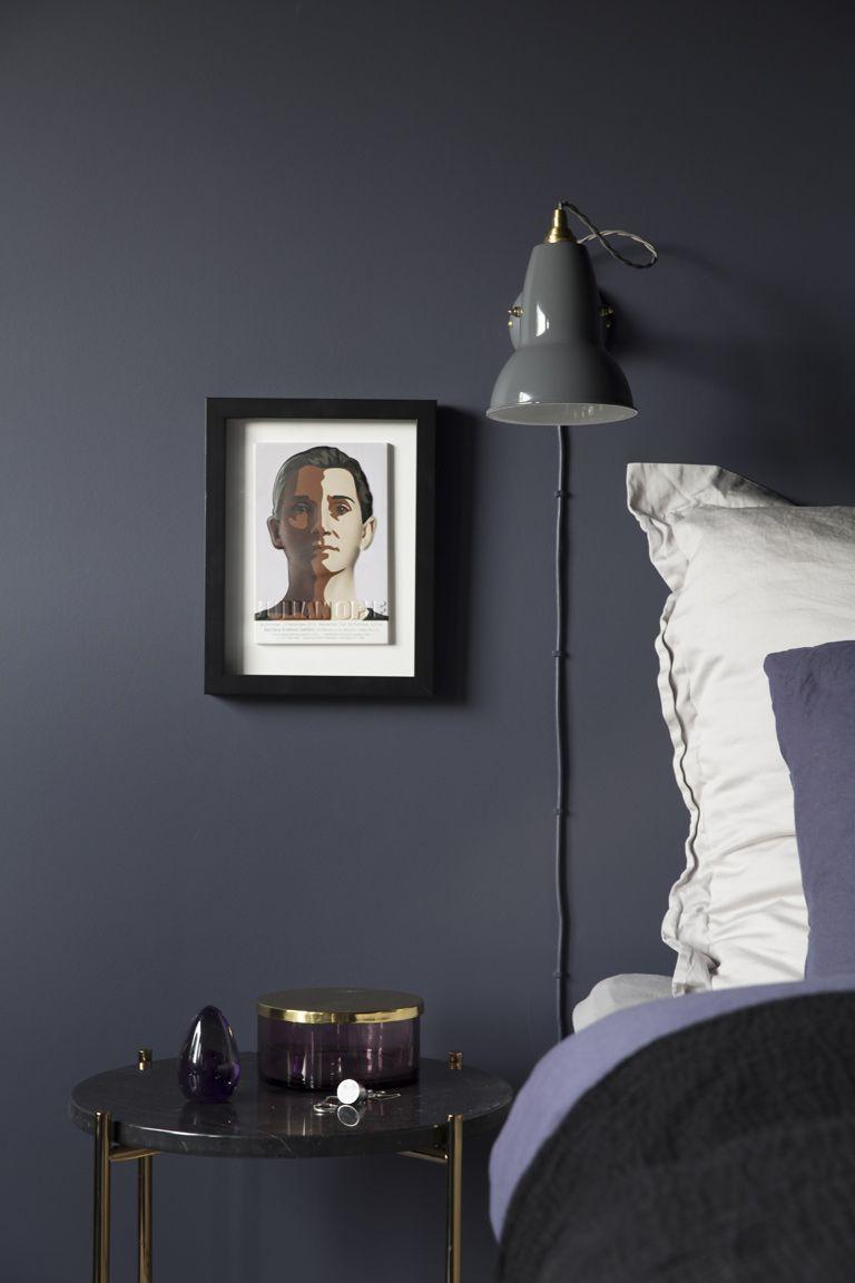 Luksuriøs stue med varme farger og eksklusive detaljer