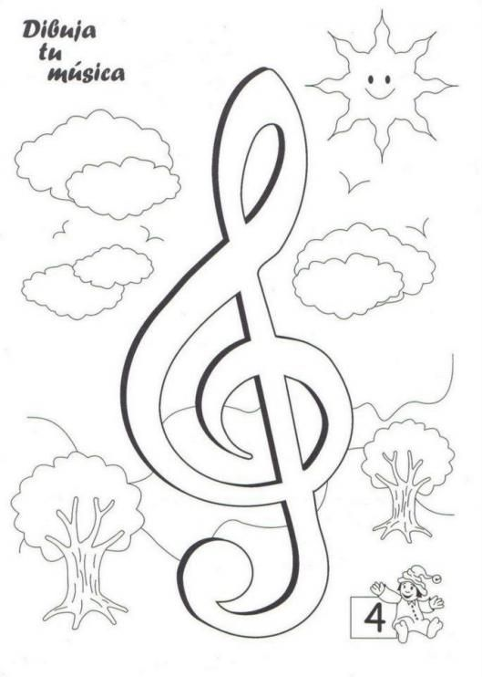 #ineverycrea Dibuja la música gracias a Educalina #