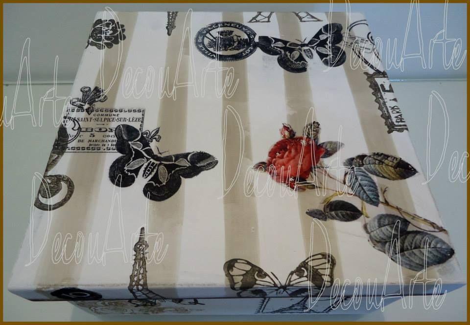 "DecouArte box.Carimbos ""stamps & Cia."""
