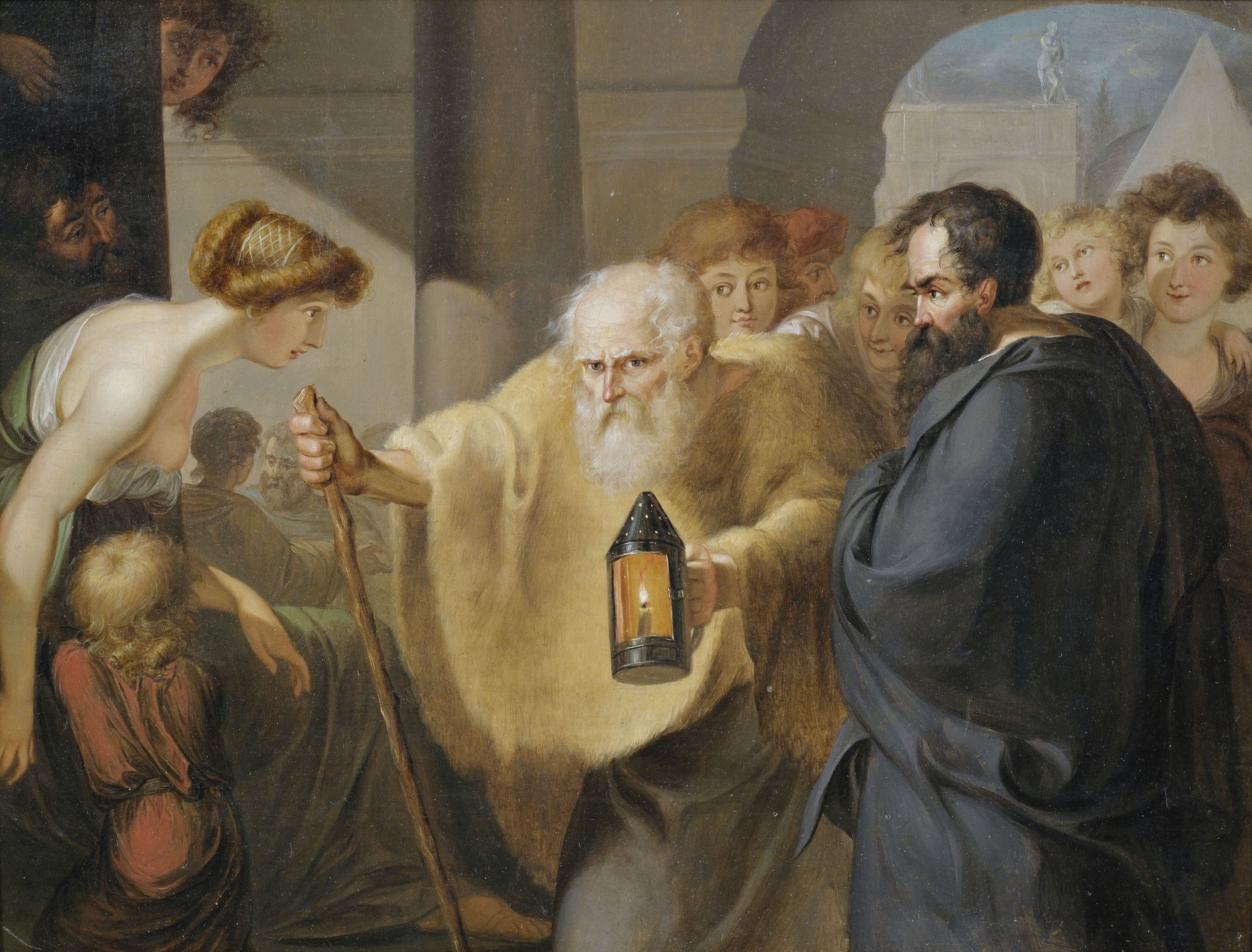 Diogenes searching for honest policies   CFACT
