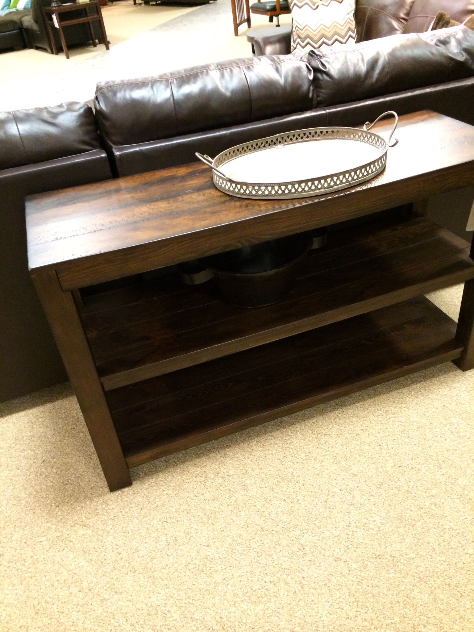 Sofa Table By Ashley Furniture Ashley Furniture By Roommakers