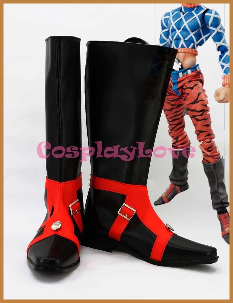 JoJo/'s Bizarre Adventure 3 DIO BRANDO Boot Party Shoes Cosplay Boots Custom