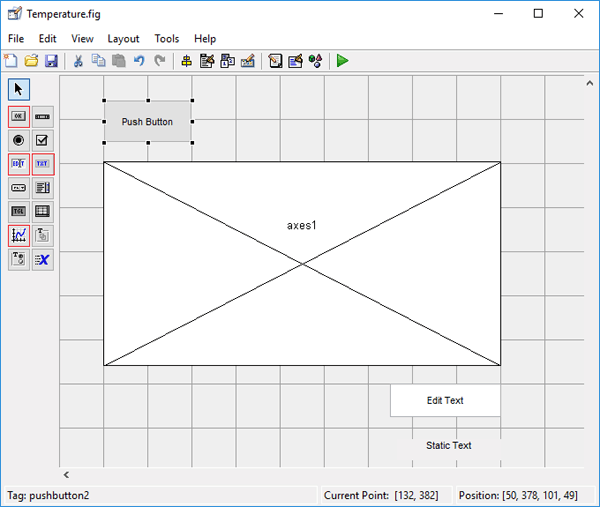 Designing GUI for Plot Graph using MATLAB | MATLAB Projects | Plot