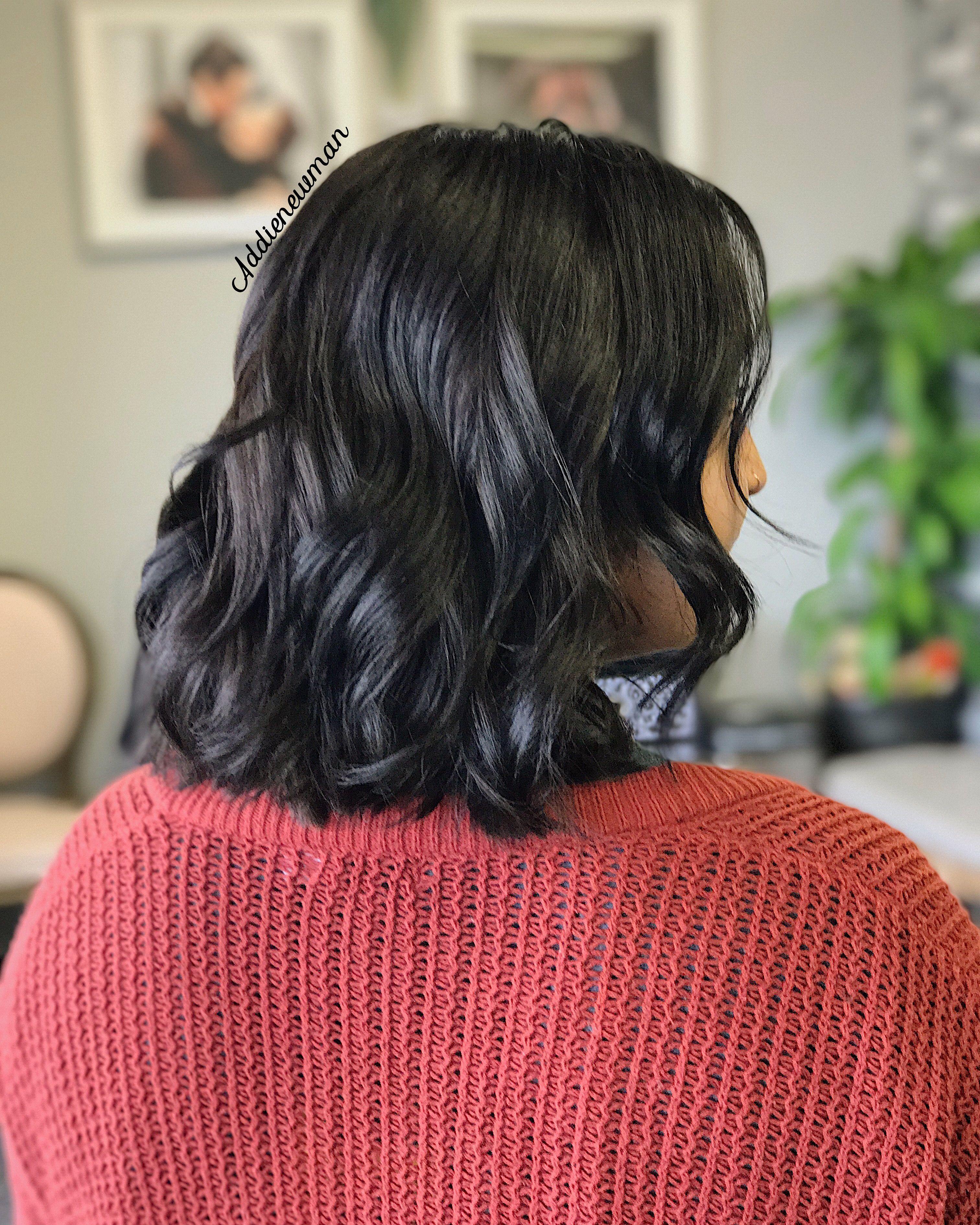 Dark expresso brunette hair inspiration