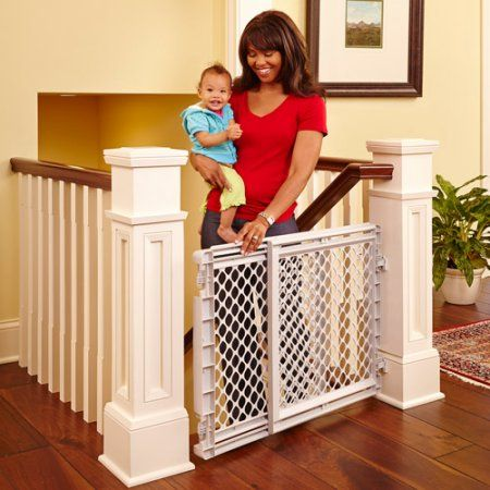 Baby With Images Baby Safety Gate Baby Gate For Stairs Baby Gates