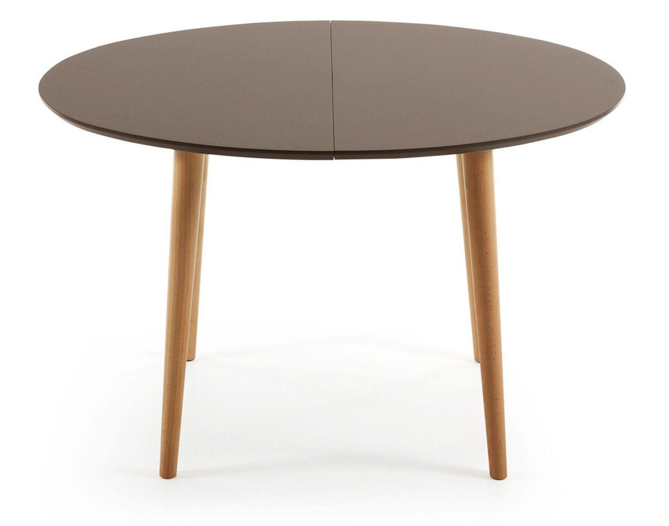 Mesa de comedor moderna oakland marron 120 cm - Decoracion mesa comedor ...