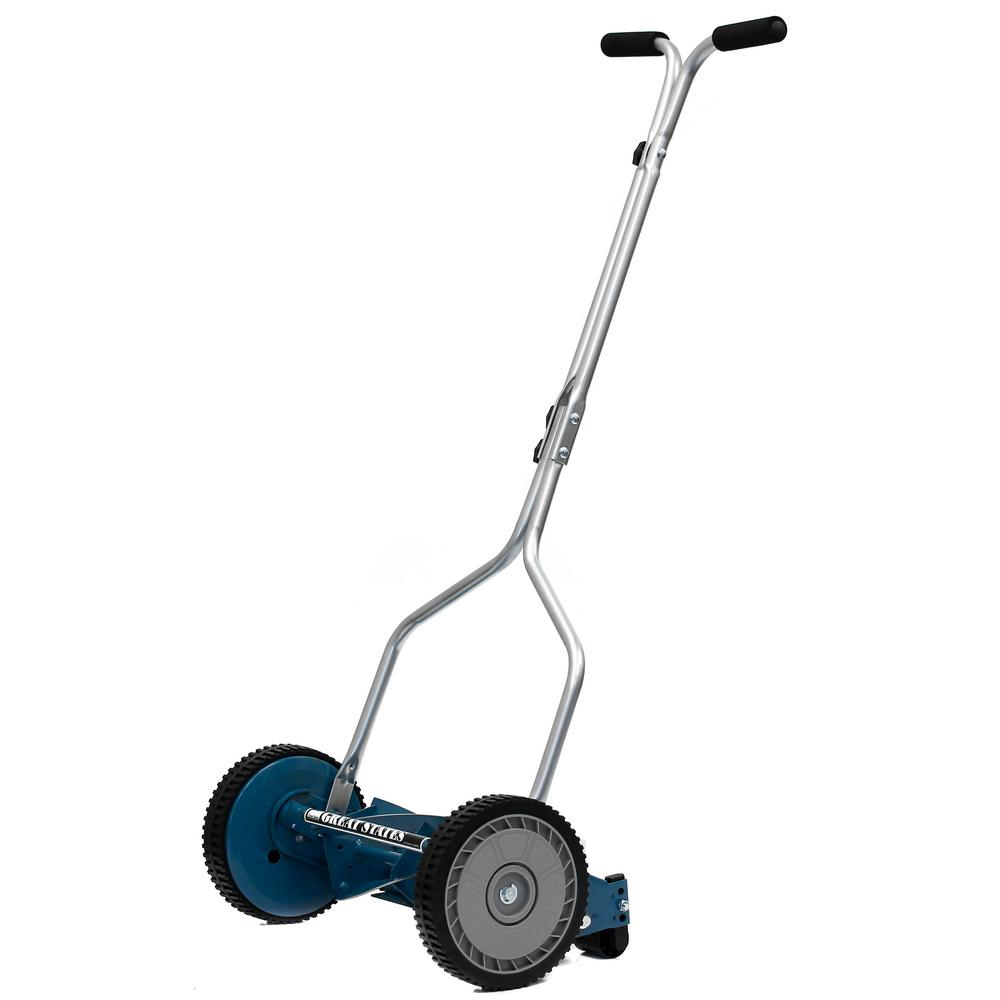 Great States Corporation 14 In Walk Behind Non Electric Manual Reel Lawn Mower 204 14 With Images Reel Lawn Mower Push Lawn Mower Lawn Mower