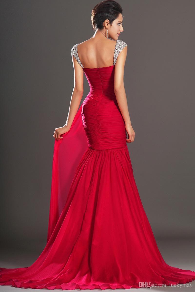 Картинки по запросу long sleeve long red dress Красные кораловые