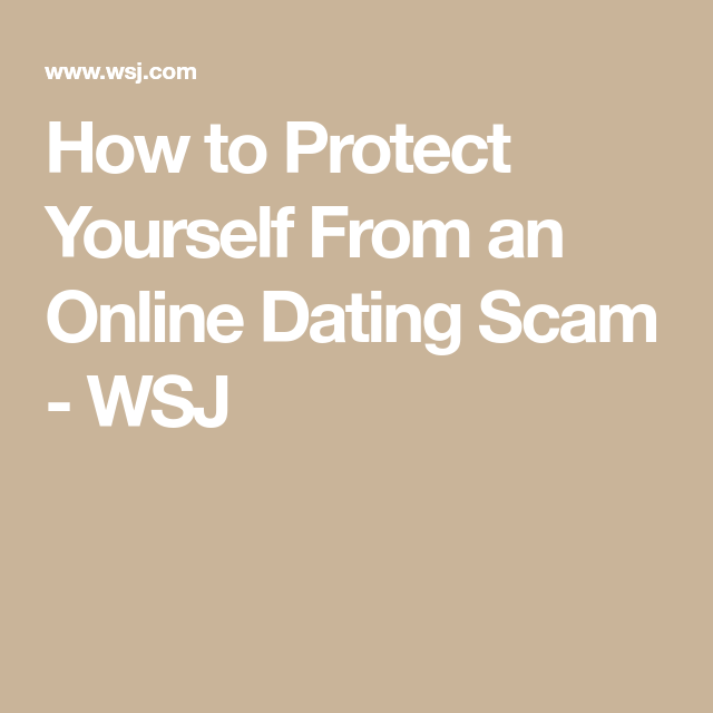 how to present yourself online dating