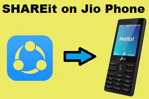 Shareit On Jio Phone Phone Phone Application Hotspot Wifi