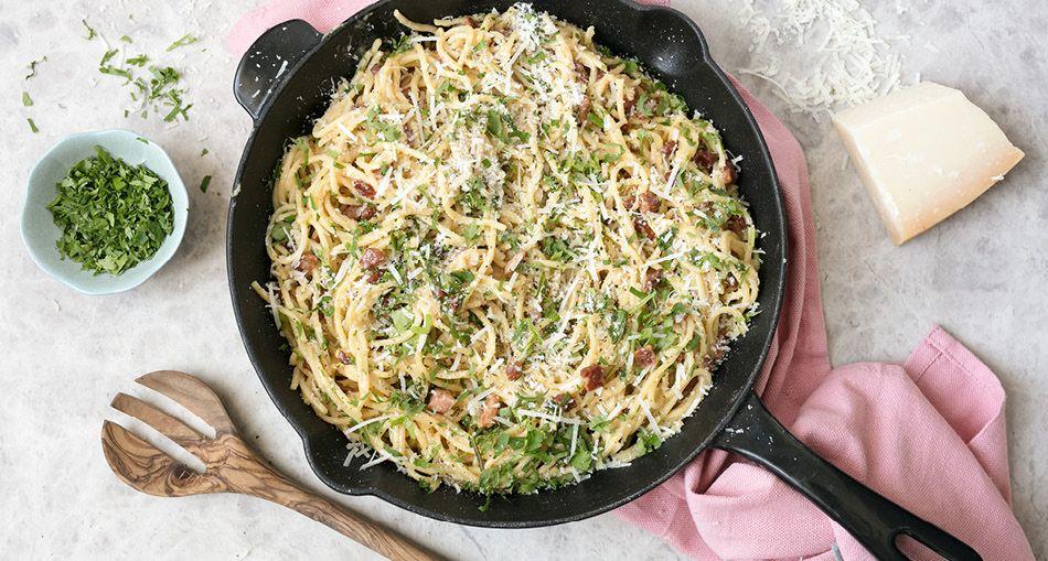 Spaghetti Carbonara Lidl Recipes Recipe Recipes Spaghetti Carbonara How To Cook Pasta