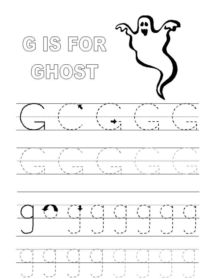 Alphabet Tracer Pages G Ghost Kids Coloring Pages Printable Coloring Pages Coloring Pa Letter G Worksheets Tracing Worksheets Preschool Preschool Letters Printable letter g worksheets for