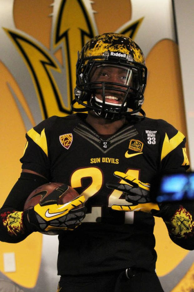 Arizona State Sun Devils Football Uniforms College Football