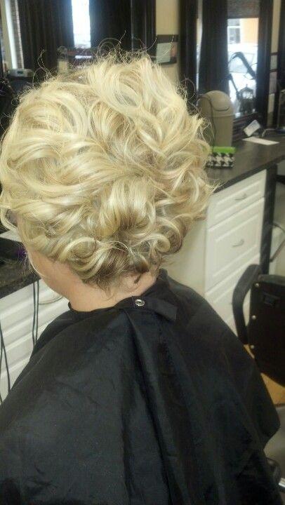 Updo Done By Me Ashley At Scarlett O Hair Salon Wedding Up Styles