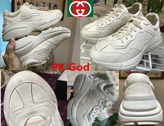 65d1b45b2 cheapest Gucci Rhyton Vintage Trainer Sneaker Latest original PK God  perfectkicks factory outelt online shop