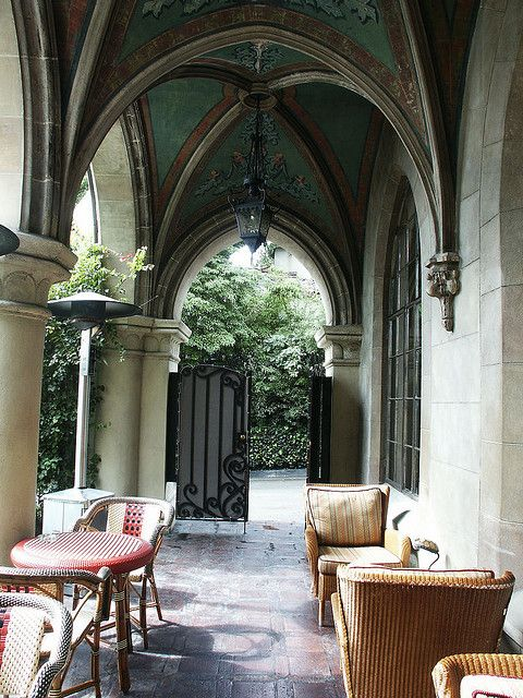 Chateau Marmont, Hollywood... From F. Scott Fitzgerald To