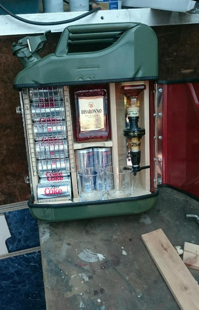 Jerry can minibar | Mini Bars | Pinterest | Kanister ...