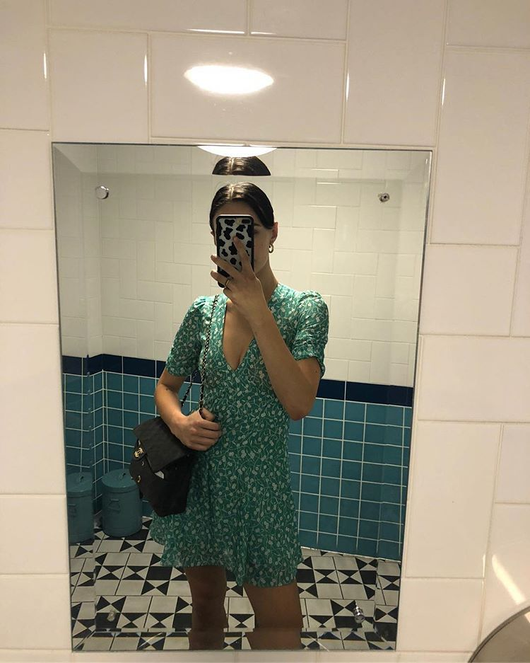 "1ad51eb1e6cb Réalisation Par on Instagram  ""⭐️Dreamgirl  devonleecarlson wearing her Ozzie  Poison Ivy dress⭐ """
