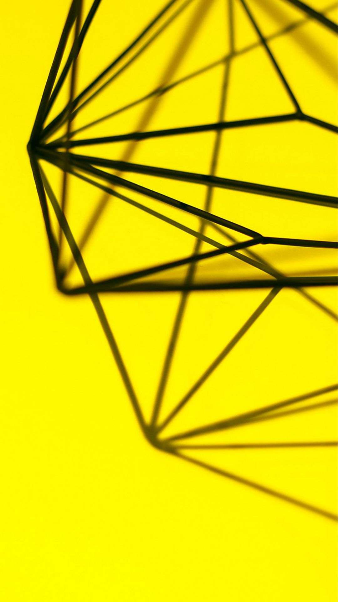 Simple Design Deco Yellow Pattern iPhone 6 wallpaper