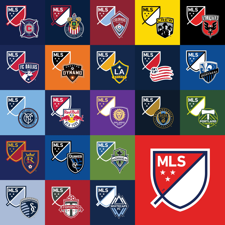 Mls Logos Mls Soccer Major League Soccer Nwsl Soccer