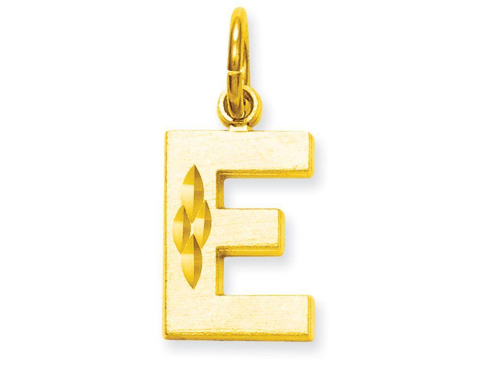 10k Initial E Charm