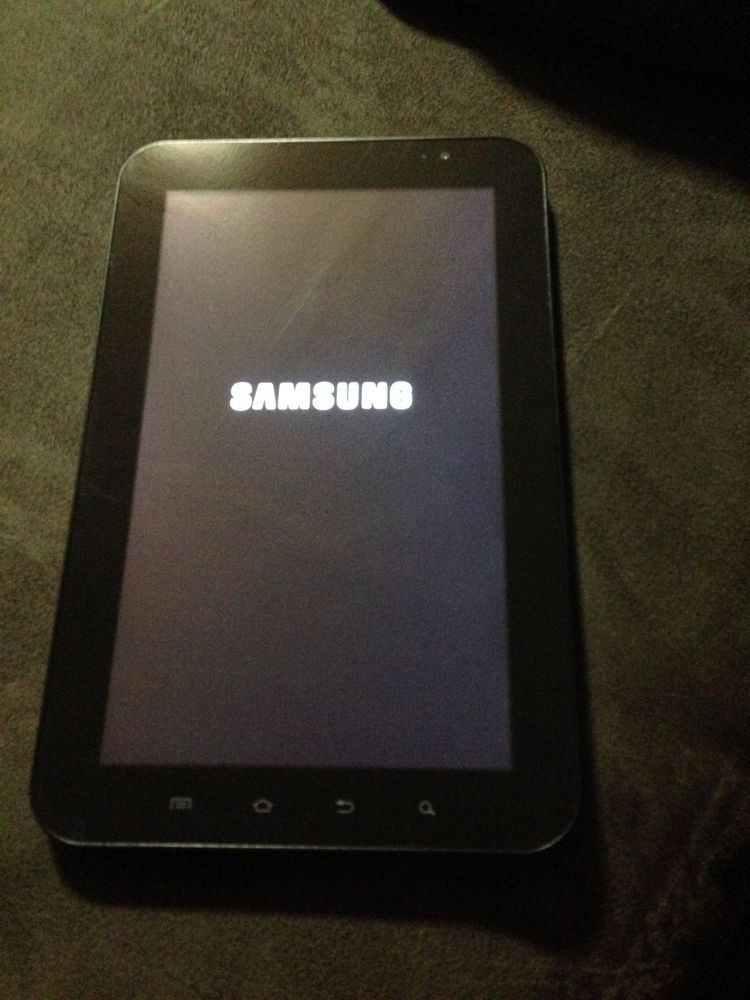Samsung Galaxy Tab SPH-P100 2GB, Wi-Fi + 3G (Sprint), 7in - Black