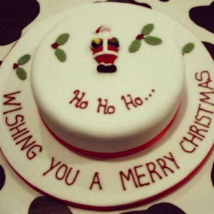 lovely x'mas cake