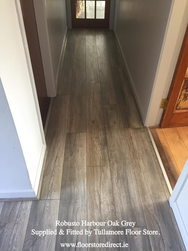 What Do You Think Of Robusto Harbour Oak Grey Laminate Wood Flooring That We Supplied And Fitted Fabulous Hard Flooring Wood Laminate Flooring Grey Flooring