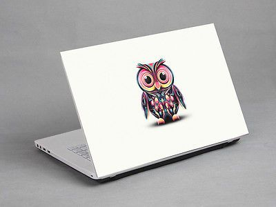 15 6 laptop notebook sticker cover decal vinyl art owl dell hp acer asus lenovo