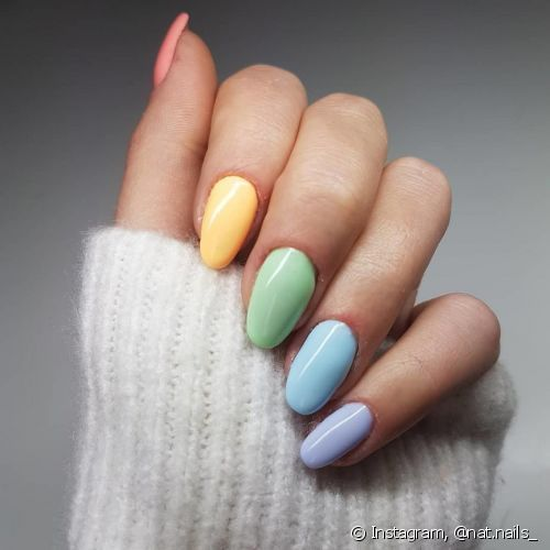 Trend Nails : esmaltes candy color