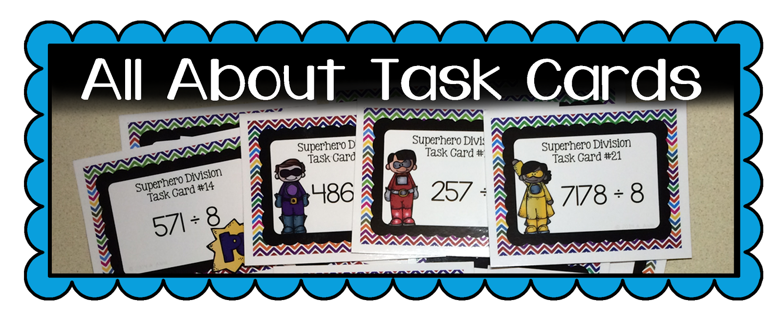 Math, Science, Social Studies......Oh, my!: Task Cards