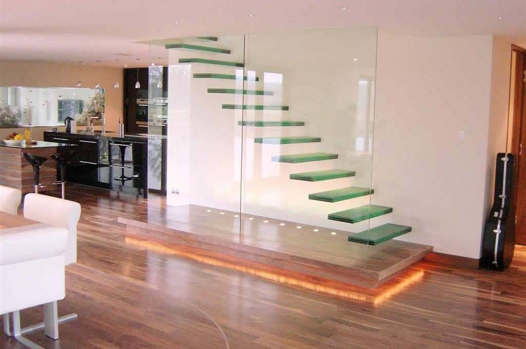 elegant staircase design ideas in the ribbon spiral staircase