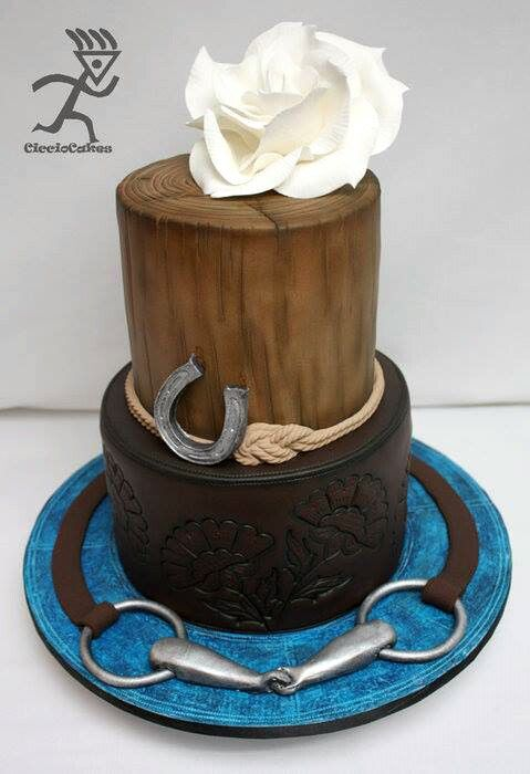 Whoa, doesn't even look edible!  (horse cake)