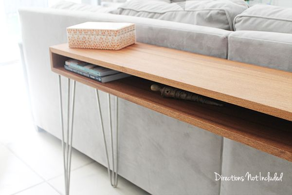 Strange A Diy Midcentury Console Table Diy Furniture Videos Diy Creativecarmelina Interior Chair Design Creativecarmelinacom