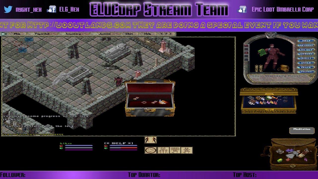 UO Outlands - [Beta Testing] Dungeon Run - The Mausoleum Ep 2