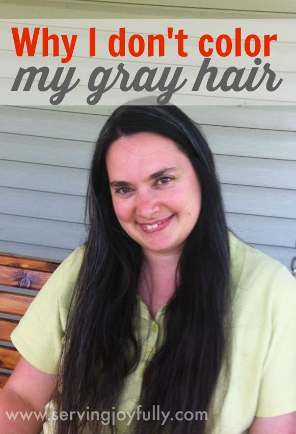 Why I Dont Color My Gray Hair Gray Hair