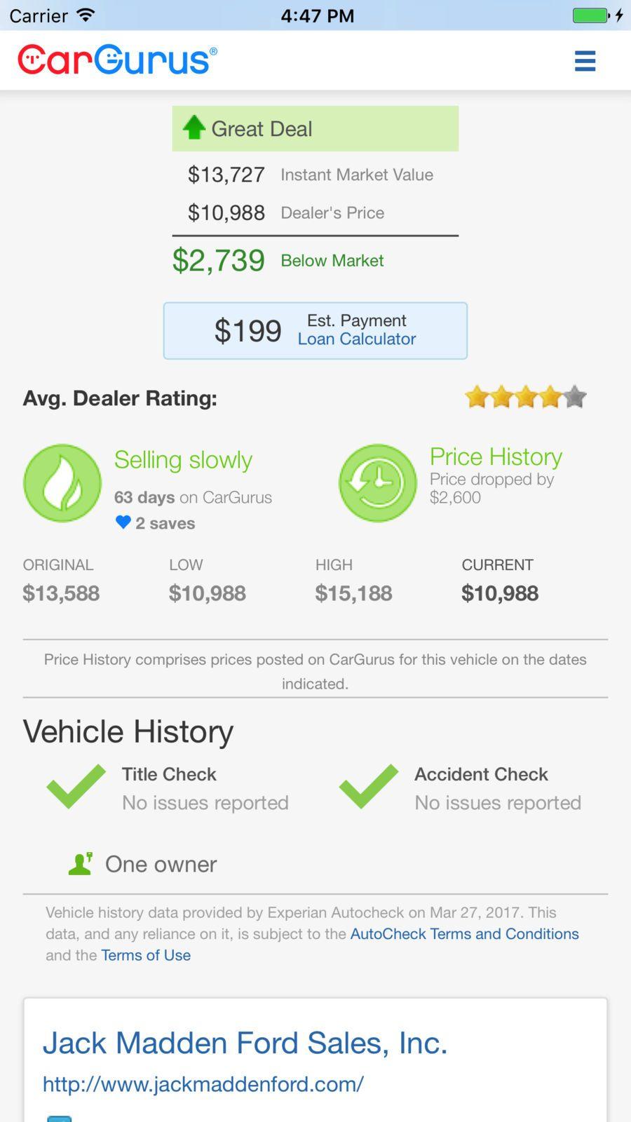 Cargurus Shop Cars Get Deals Reference Shopping Apps Ios Car Shop Shopping App App