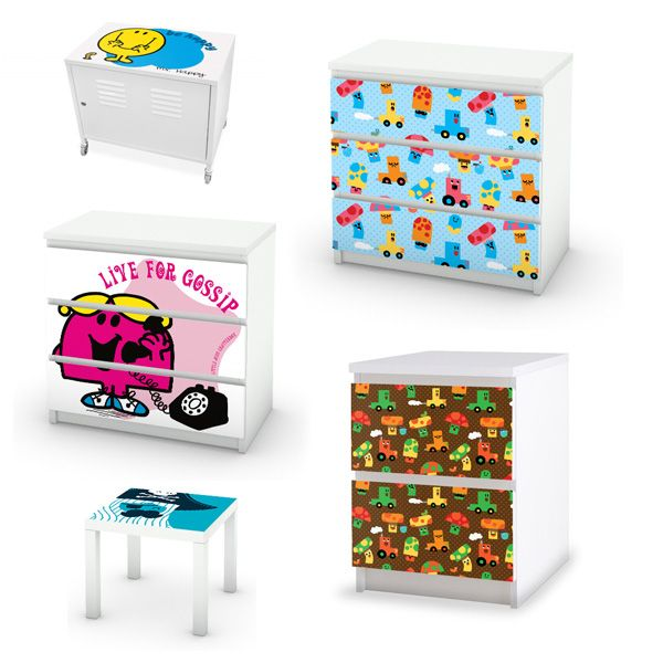 des stickers pour customiser ses meubles ik a cool pinterest parents. Black Bedroom Furniture Sets. Home Design Ideas
