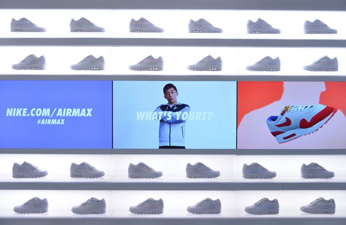 Nike Air Max Box Pop Up Shop In Celebration of Air Max Day