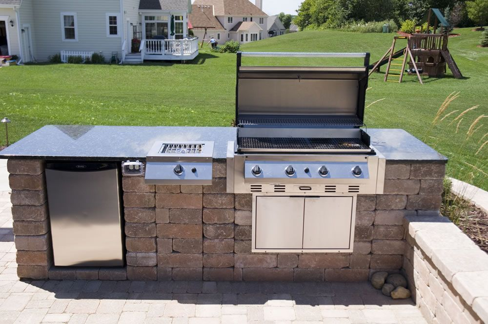 This Image Is About The Outdoor Built In Grills And Led Small With Description Also Has Following Tags Best