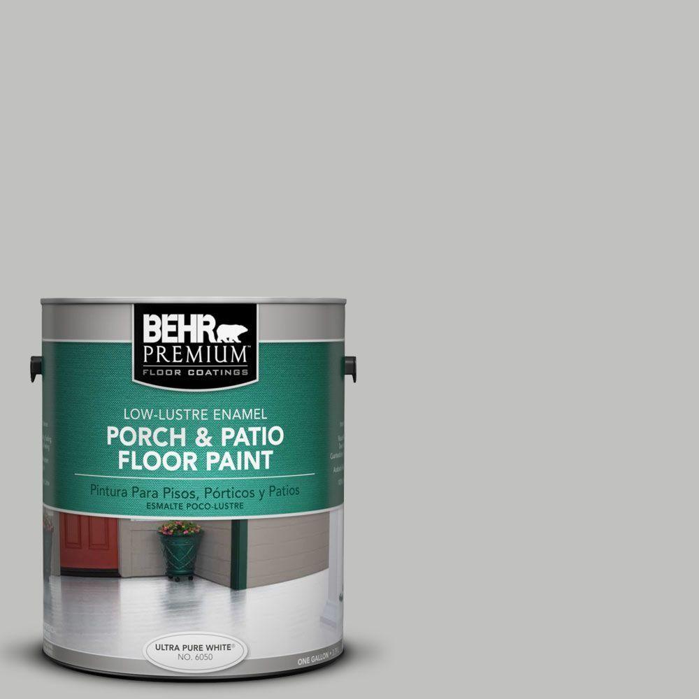 BEHR Premium 1-Gal. #pfc-62 Pacific Fog Low-Lustre Porch and Patio ...
