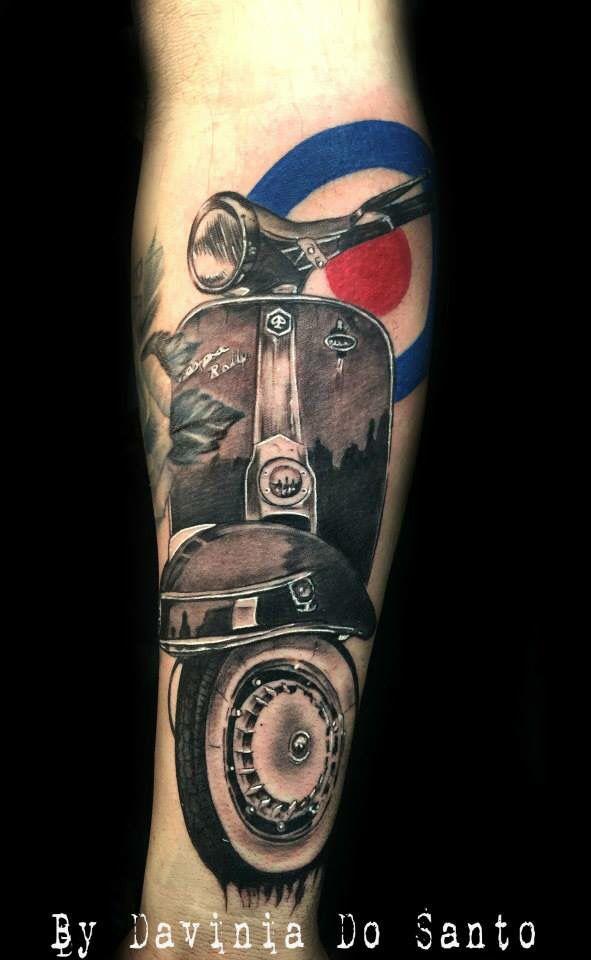 Vespa tattoo