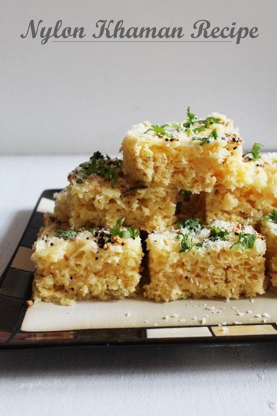 Khaman recipe (Gujarati nylon khaman | Recipe | Food fun ...