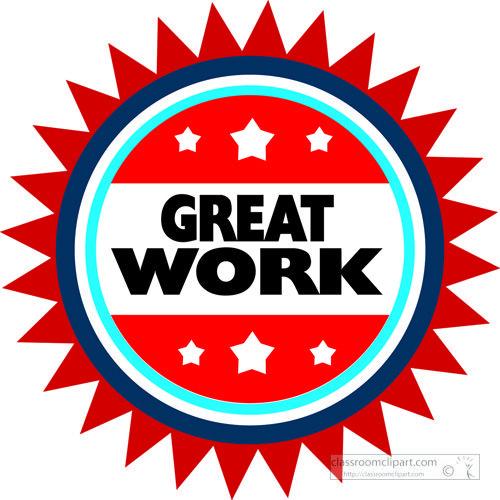 Motivational Great Work Red Circle Teacher Stickers Teacher Stamps School Stickers