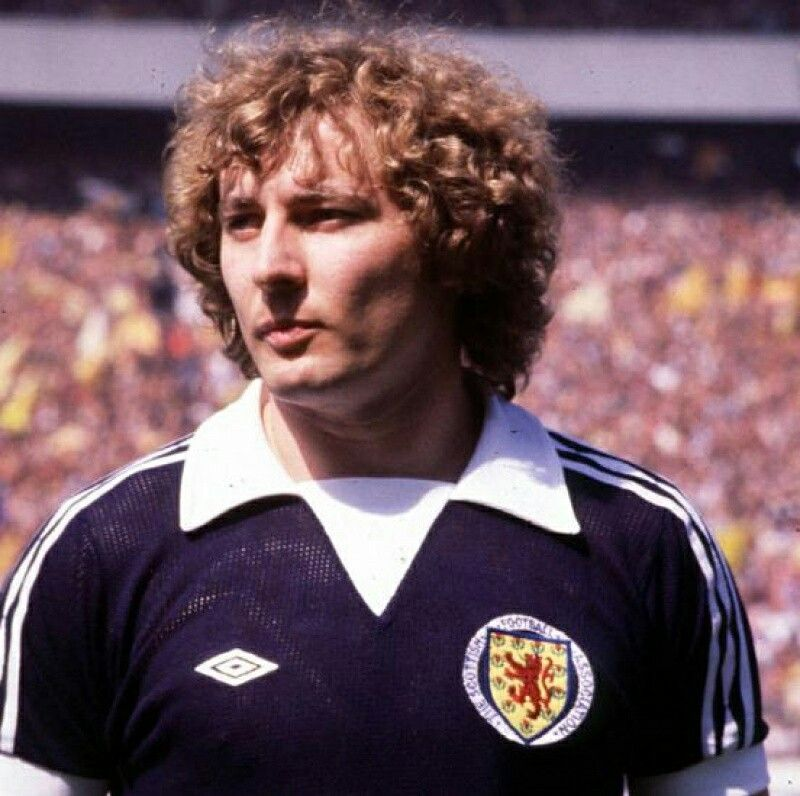 Asa Hartford - 50 caps for Scotland (1972 - 1982)