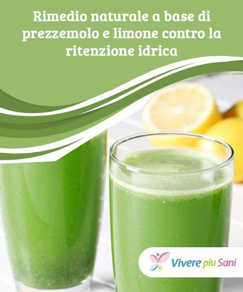 rimedi casalinghi per perdere peso con prezzemolo e limones
